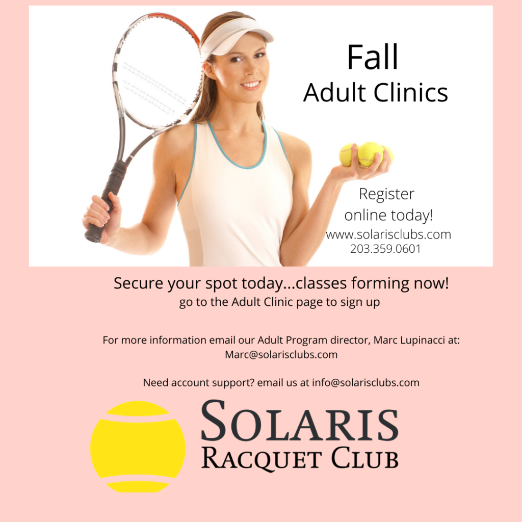 Fall Adult Clinics-2